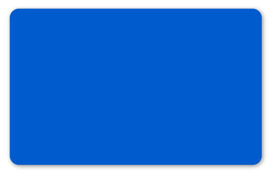 Plastikkarten blau