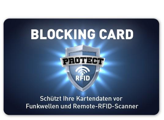 RFID Blocking Card - bedruckt
