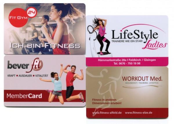 Fitnessstudiokarten