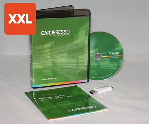 Cardpresso XXL Kartendrucker Software