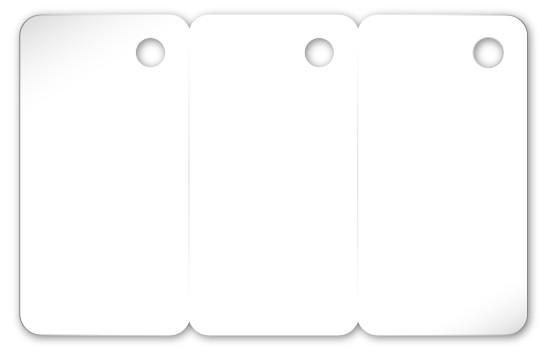 Schlüsselanhänger in 28 x 54mm
