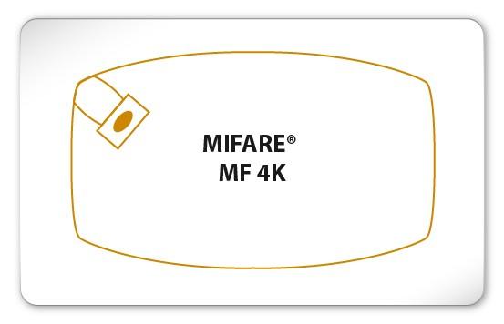 MIFARE® Classic 4K Karte