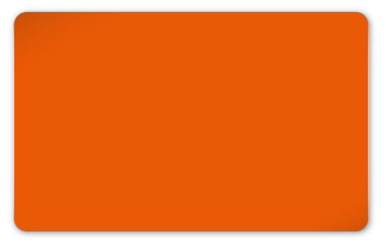 Plastikkarten orange