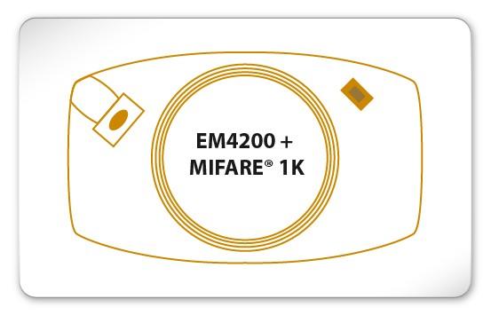 EM4200 + MIFARE® Classic 1K