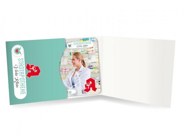 Karten Verpackung - Folder