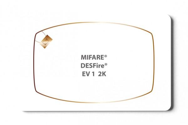 Transponderkarten MIFARE® DESFire® EV1 2K Karte