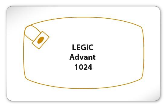 Legic Advant 1024 Karte