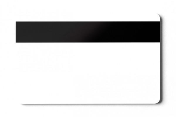 Magnetkarten HiCo 4000 blanko weiß