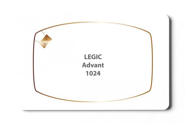 Transponderkarte Legic Advant 1024 Karte