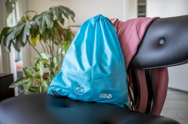 Bio Backpack aus recyceltem Kunststoff