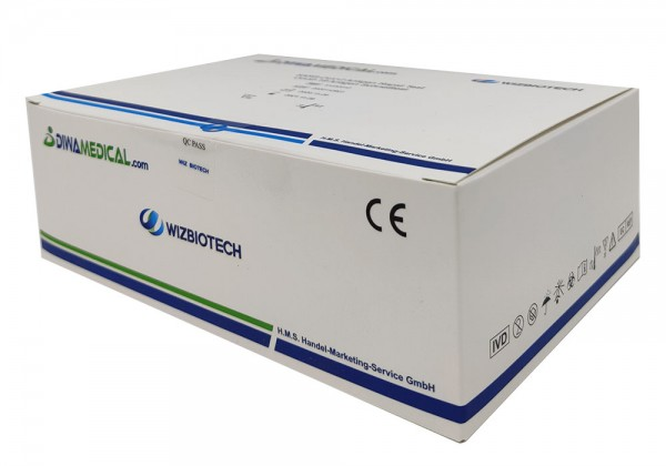 WIZBIOTECH COVID Antigen Schnelltest Nasenabstrich 20er Pack