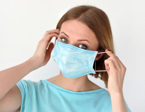 Einweg Mund- und Nasenmasken 3-lagig - im 50er Pack