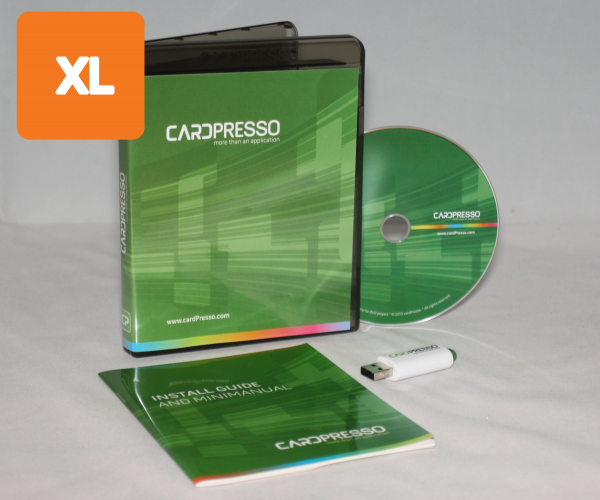 Cardpresso XL Kartendrucker Software