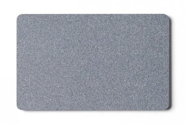 Plastikkarten silber- 0,76 mm