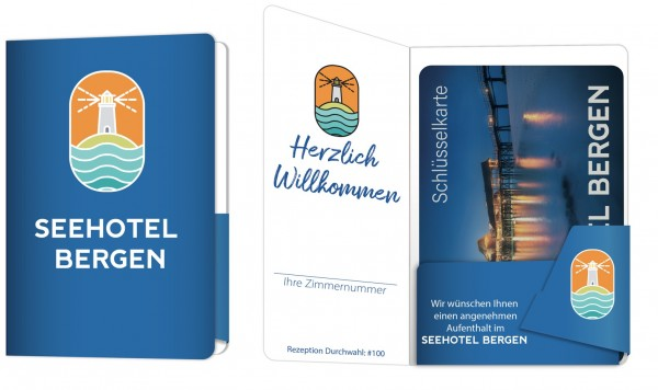 Kartenverpackung - Holiday