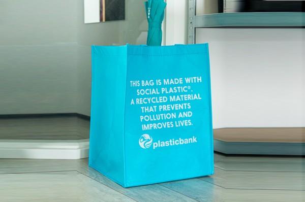 Bio Einkaufstasche aus recyceltem PET