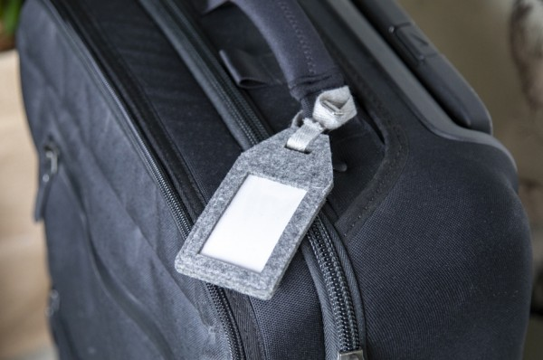 Bio Kofferanhänger aus recyceltem PET