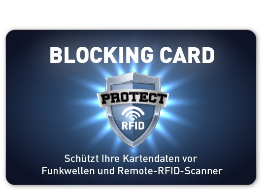RFID Blocking Card - bedruckt