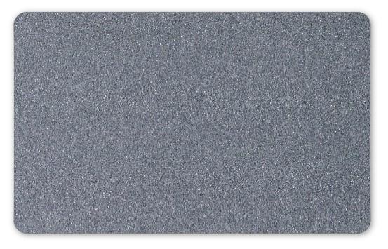 Plastikkarten silber - 100 Stück - Stärke: 0,76 mm