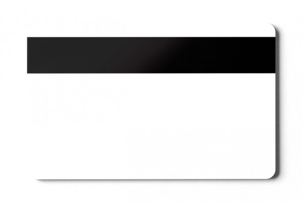 Magnetkarten HiCo 2750 blanko weiß