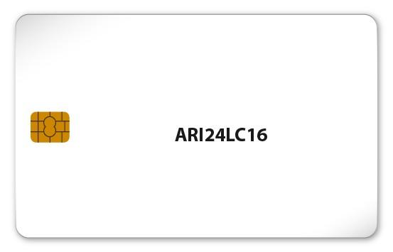 Chipkarte ARI24LC16