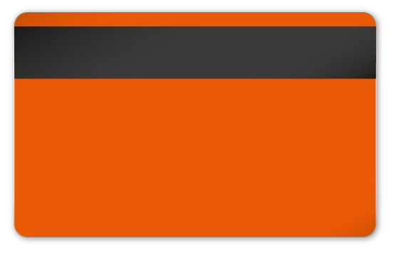 Magnetkarten LoCo orange