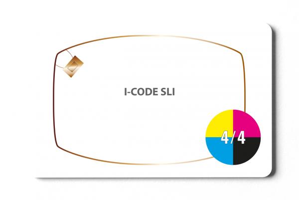 I-Code SLI - 4/4-farbig bedruckt