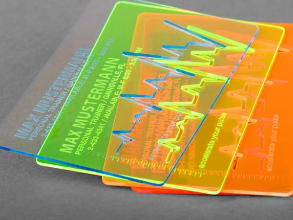 Acryl-Karten