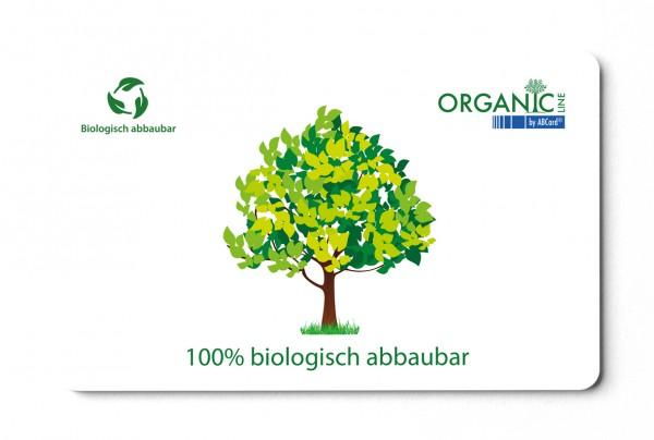 Biologisch abbaubare Plastikkarten bedruckt