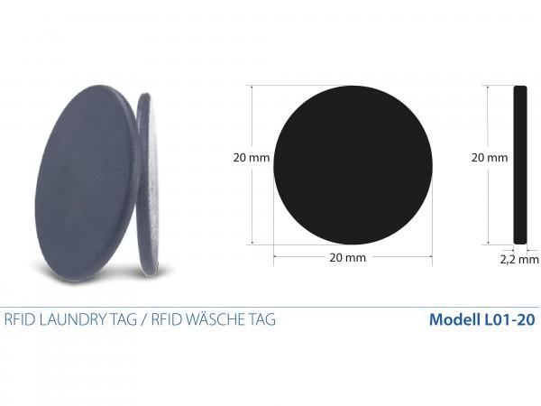 RFID Laundry Tags / RFID Wäsche Tags mit Fudan 1K