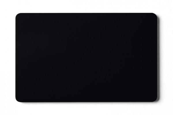 Plastikkarten schwarz - 0,76 mm