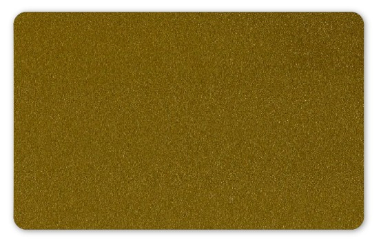 Plastikkarten gold - Stärke: 0,76 mm