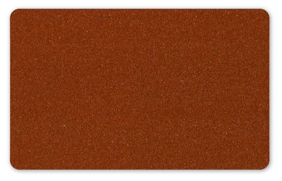 Plastikkarten bronze - 100 Stück - Stärke: 0,76 mm
