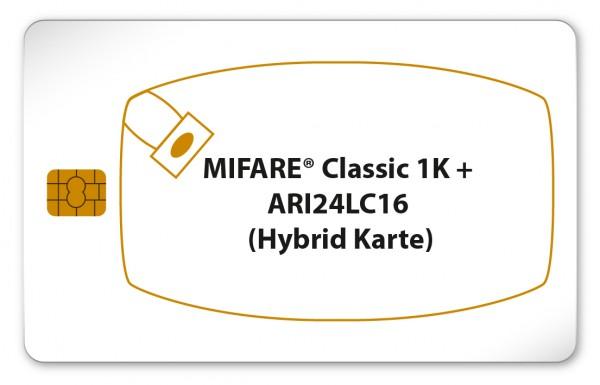 MIFARE® Classic 1K + ARI24LC16