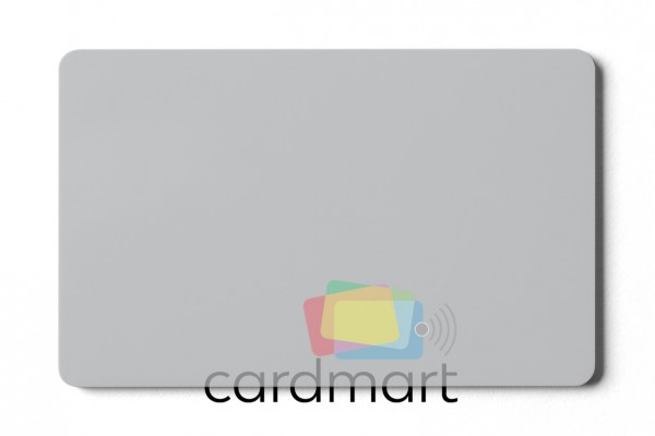 Plastikkarten transparent - 0,76 mm