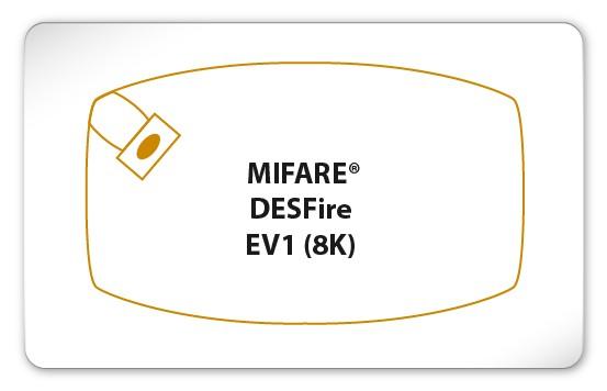 MIFARE® DESFire® EV1 8K Karte