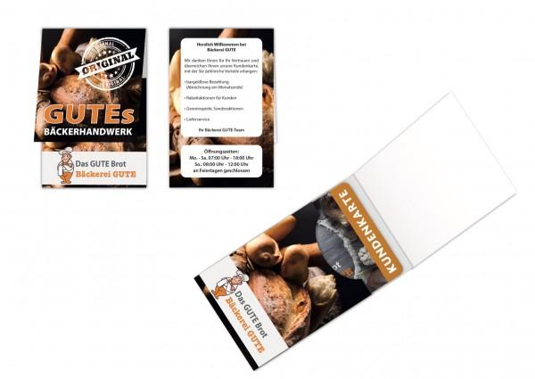 Kartenverpackung - Folder