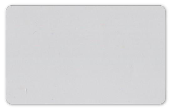 Plastikkarten transparent - Stärke: 0,76 mm